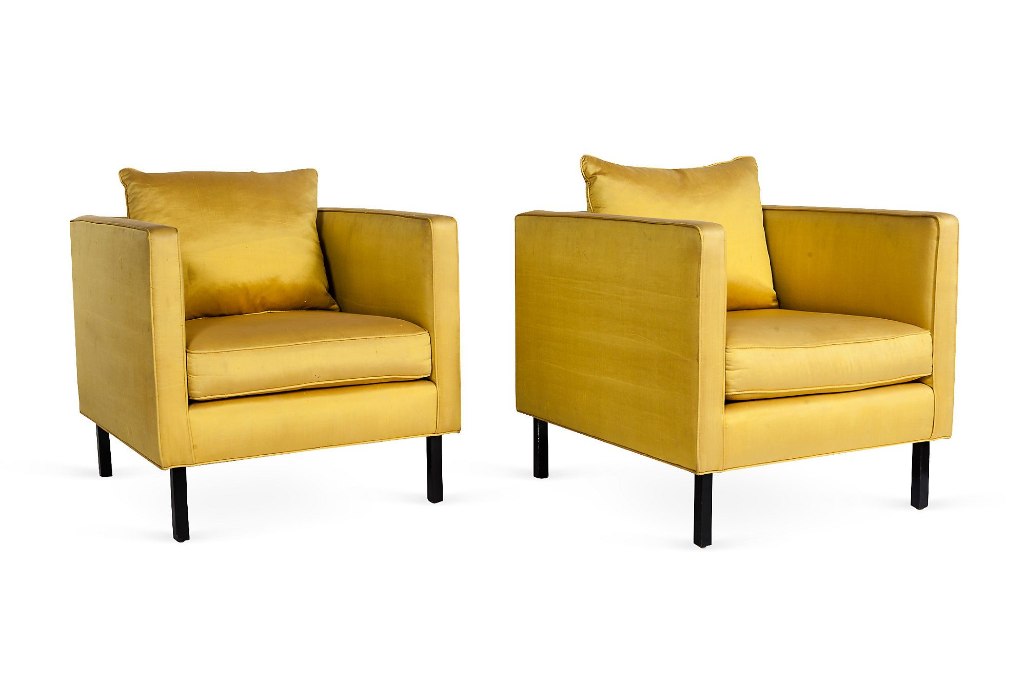 One Kings Lane Chairs Revolving Chair Manufacturer In Lahore Canary Yellow Pair On Today Shop