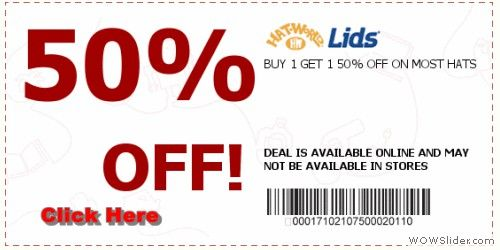 You Can Easily Find A Lids Coupon Code On The Websites Of All The