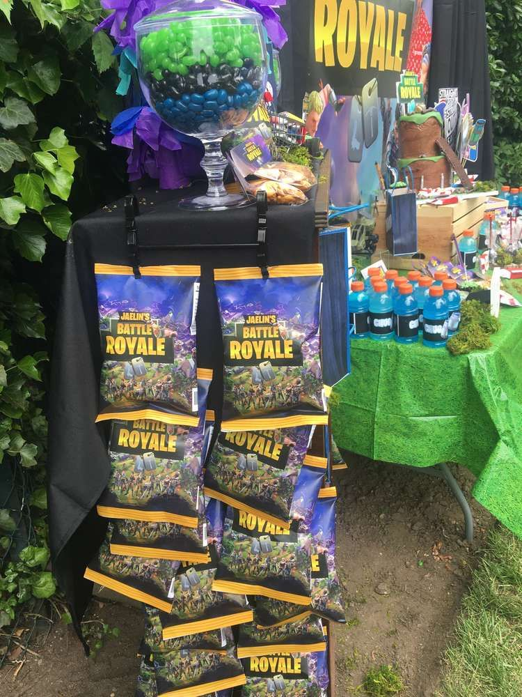 Fortnite Birthday Party Ideas (With images) Boy birthday