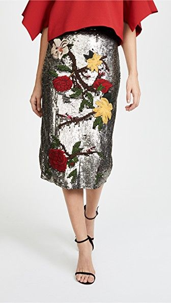 1ee690487fbf Ella Embellished Sequin Midi Skirt   Life Goes to a Party ...