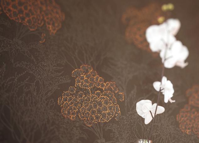 Collection NIWA. Chic, charme, Japon, nature, fleurs, papier-peint ...