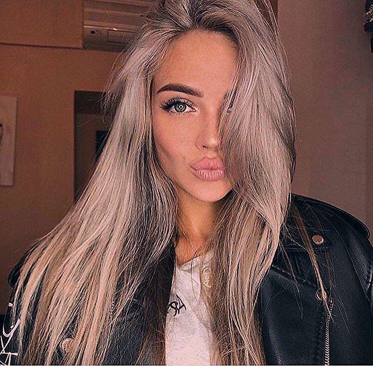 Neuer Trend Fur Die Haare Graue Haare Balayage Weisse Haare