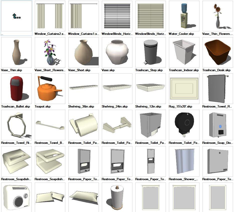 Sketchup Table 3d Models Download Cad Design Free Cad Blocks  # Muebles Revit Gratis