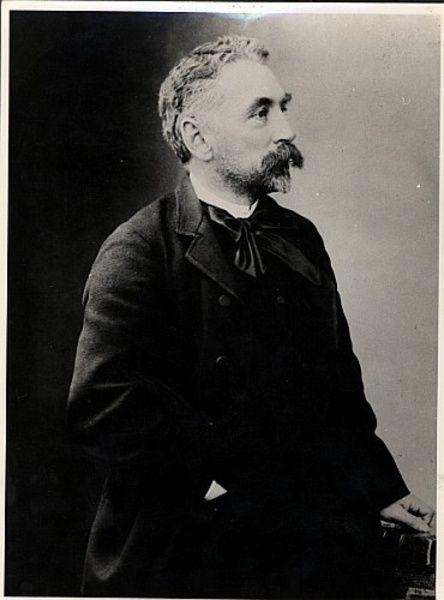 Stephane Mallarme 1842 98 B W Photo Archives Charmet
