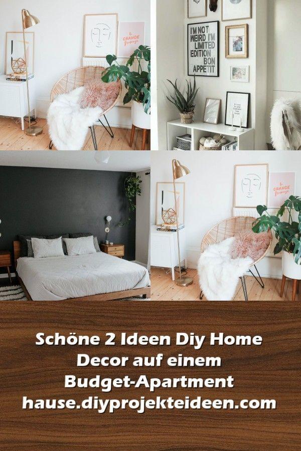 #auf #BudgetApartment #Decor #DIY #einem #Home #Ideen # ...