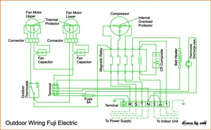 Diagram Wiring Diagram Ac Cassette Fuji Electric