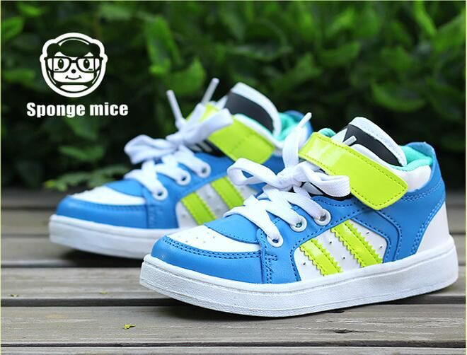 2017 Sponge Mice Spring And Autumn New Children Childrens Shoes Toddler Shoes Boys Shoes