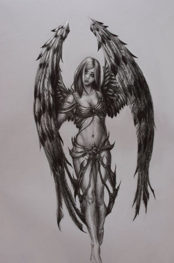 Pencil drawings of angels angel sketch by la sagne i think i want to do something like this for an art show at my school