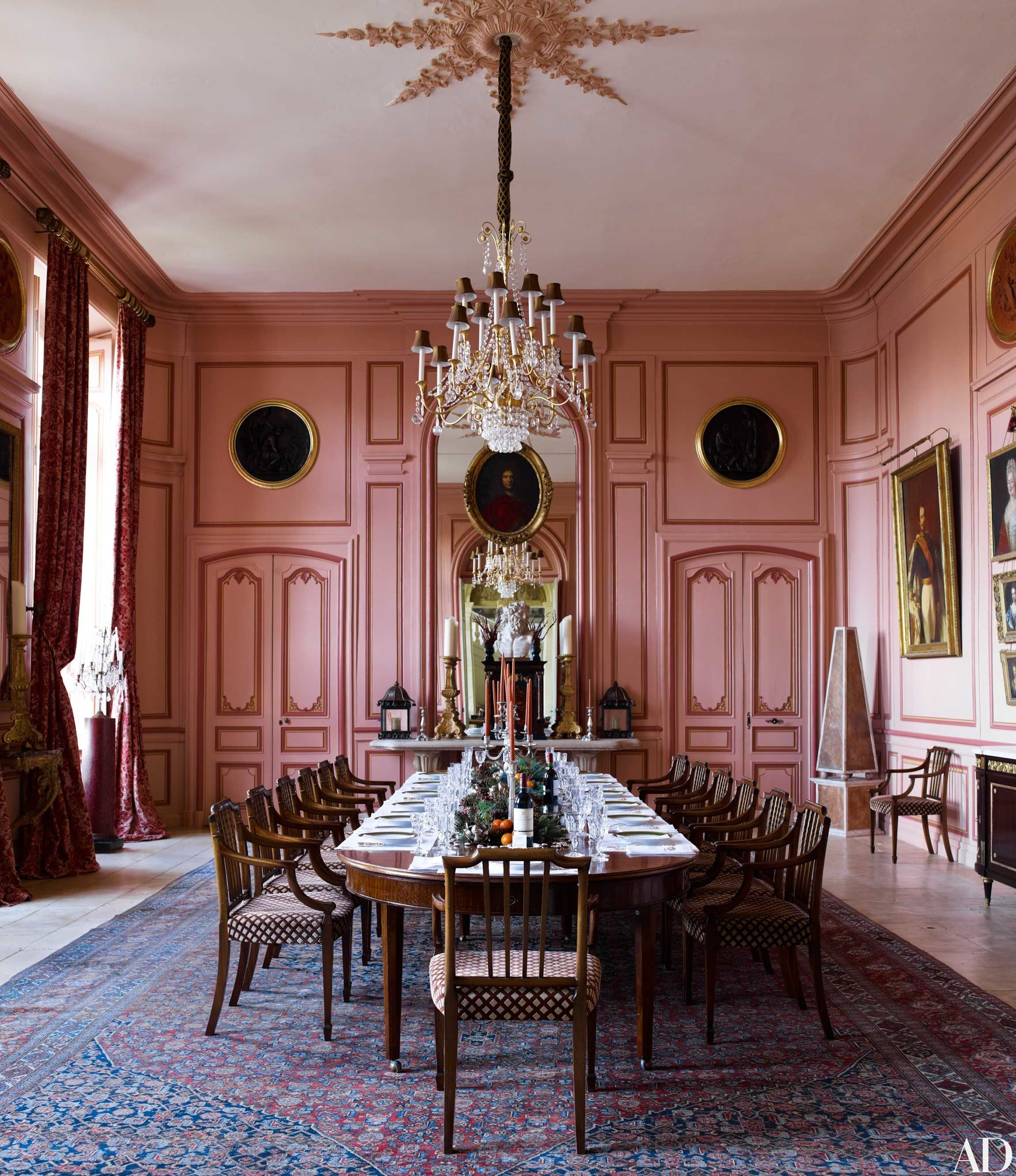 Timothy corrigan is selling his palatial french ch teau for French chateau kitchen designs