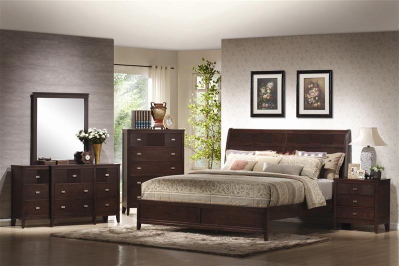 Bedroom Furniture Sets, Cherry Veneer Bedroom Furniture