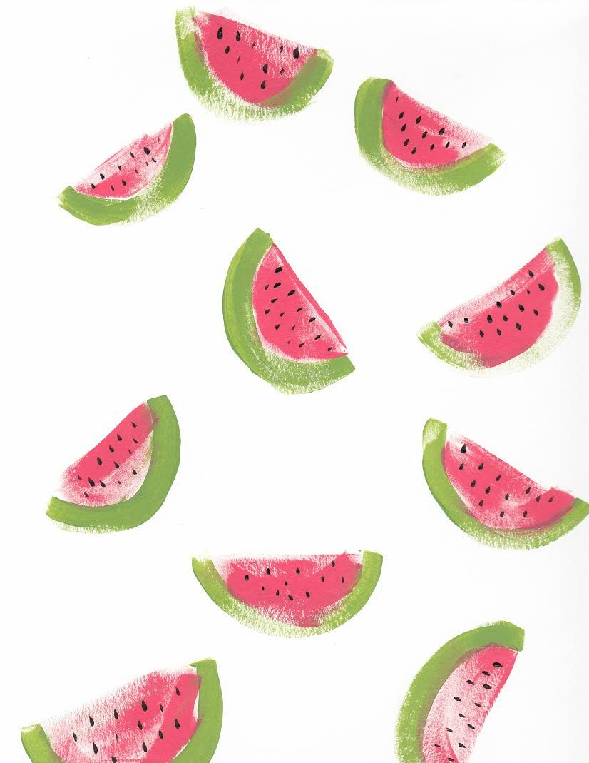 DIY watermelon desktop wallpaper. So cute! backgrounds