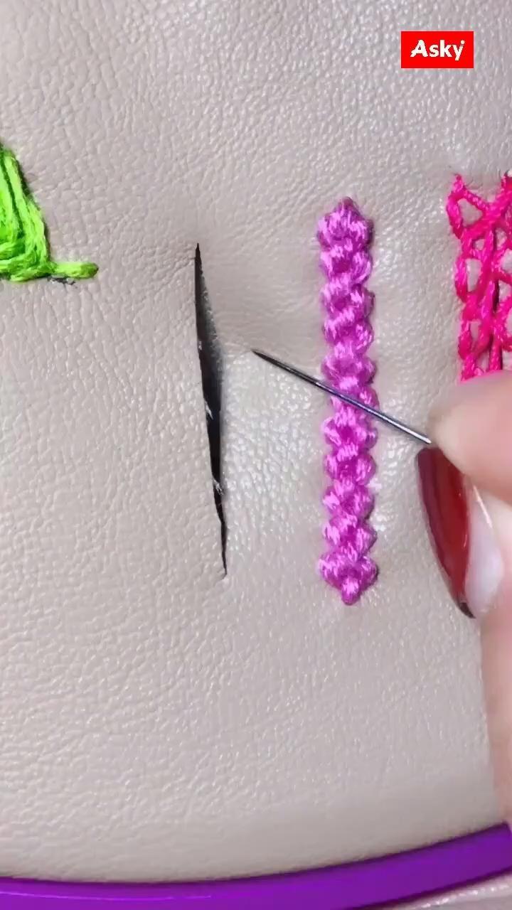 AINIA Hand Embroidery Idea
