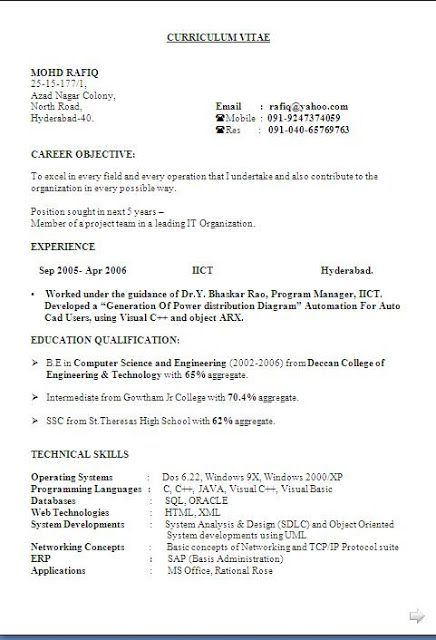 Australian Resume Templates Free Download Sample Template