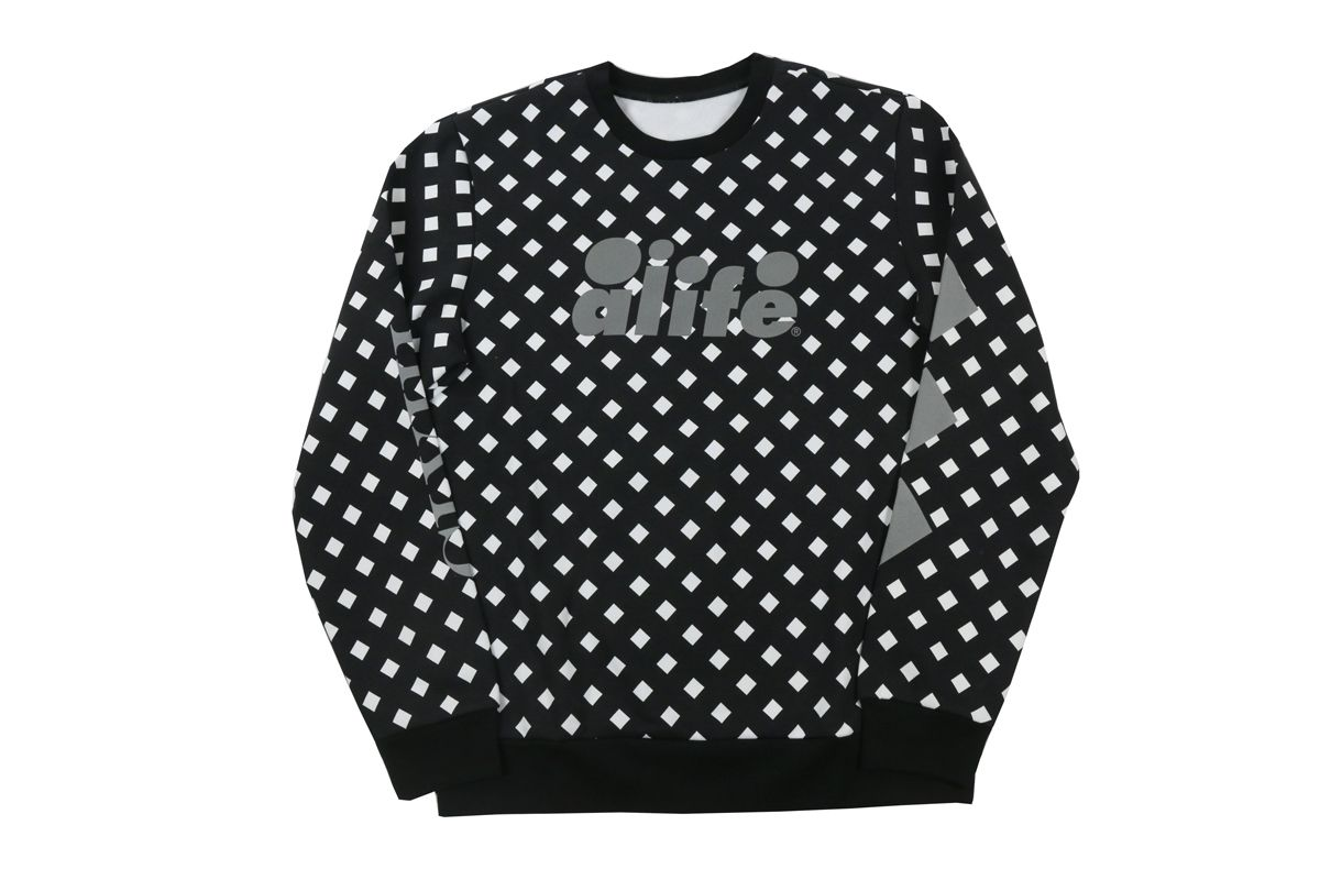 Puma x alife arc crew sweat bkaop mens fashion casual wear