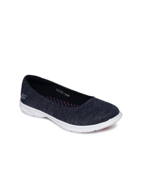 6bbb160df9 Buy Skechers Women Navy Blue Go Step Walking Shoes - Sports Shoes for Women  | Myntra