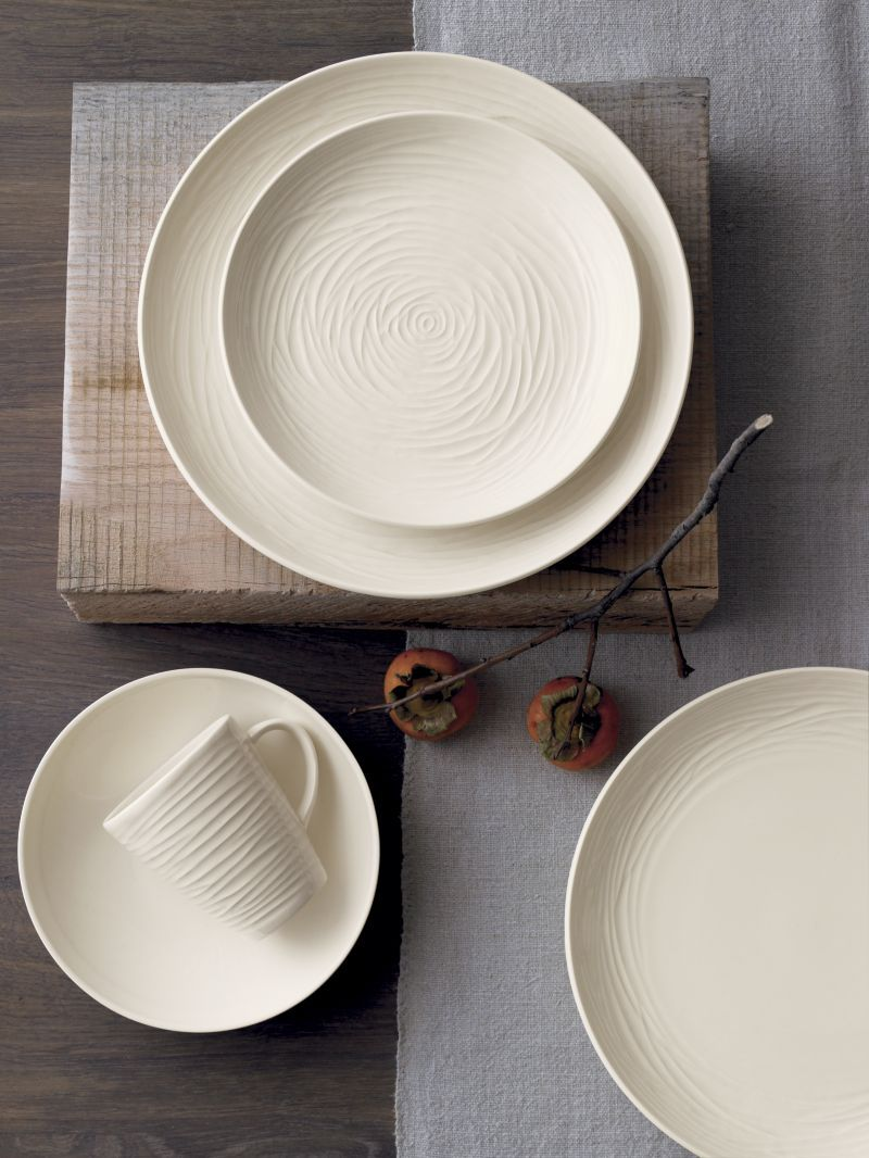 Dessert Plates and Appetizer Plates & Spool Dinnerware   Crate and Barrel - too fragile for everyday but ...