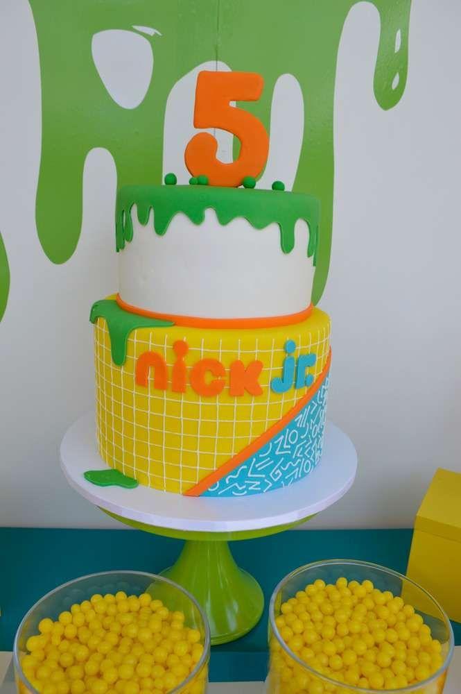 Peachy Nick Jr Birthday Party Ideas With Images Nick Jr Birthday Funny Birthday Cards Online Alyptdamsfinfo