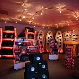 Show Room Tyre Shop Display Design Car Shop
