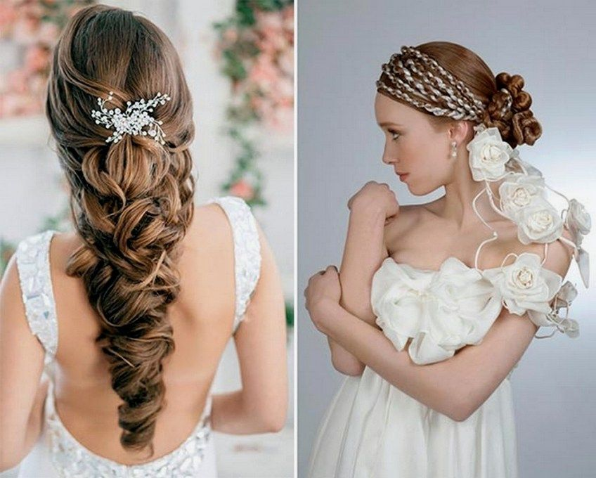 Grecian Wedding Hairstyles For Long Hair - name
