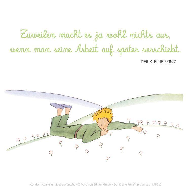 Der kleine Prinz The little Prince Le Petit Prince Zitat ...