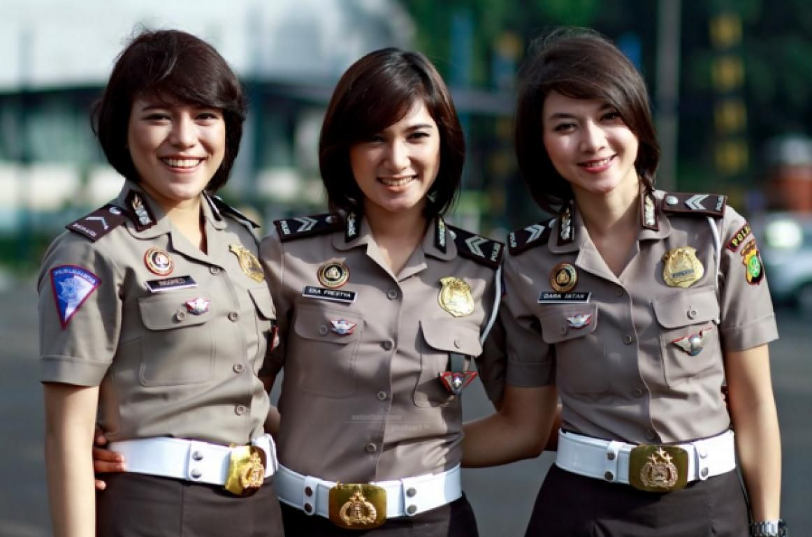 Image result Pejuang wanita, Polisi, Militer