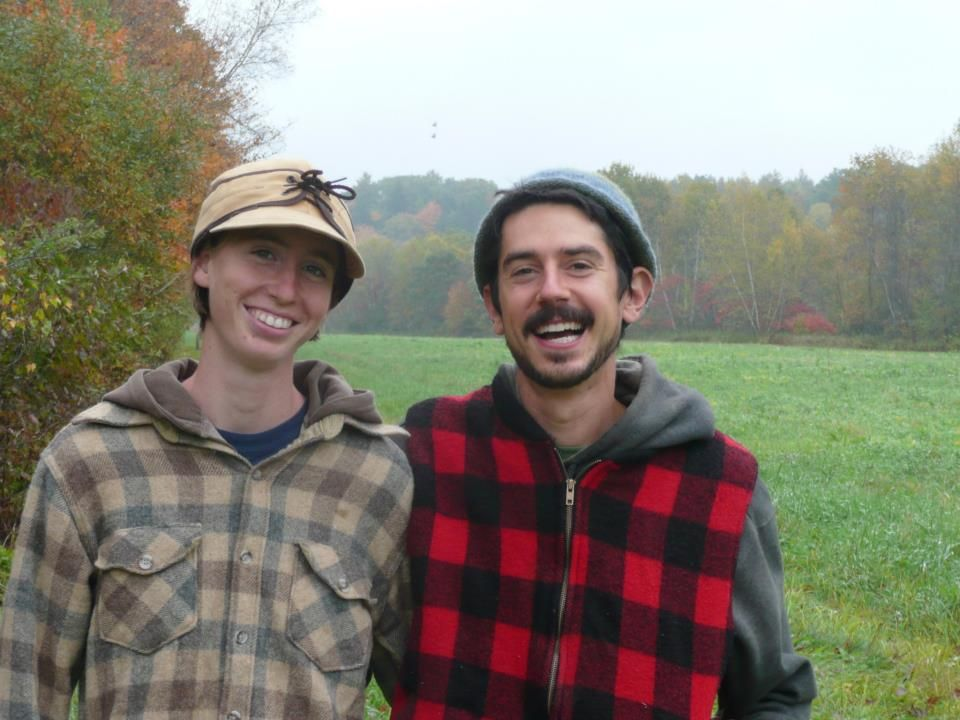 Our Common Ground Fair High Tunnel Raffle winners! Johanna Davis and Adam Nordell run Songbird Farm, a certified organic vegetable and grain farm on 6 acres of fertile bottom land along the Sandy River in Starks, ME. The farm specializes in sweet potatoes, carrots, beets, and a northern New England heirloom dry corn, Roy's Calais Flint for cornmeal and seed. Now in their 3rd year running their own farm business, Davis and Nordell are enrolled in MOFGA's Journeyperson program for new farmers.