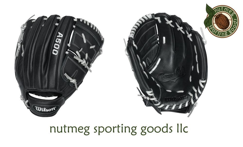 Wilson A500 Game Soft Bb12 12 Youth Glove Rht Gloves Softball Gloves Youth Baseball