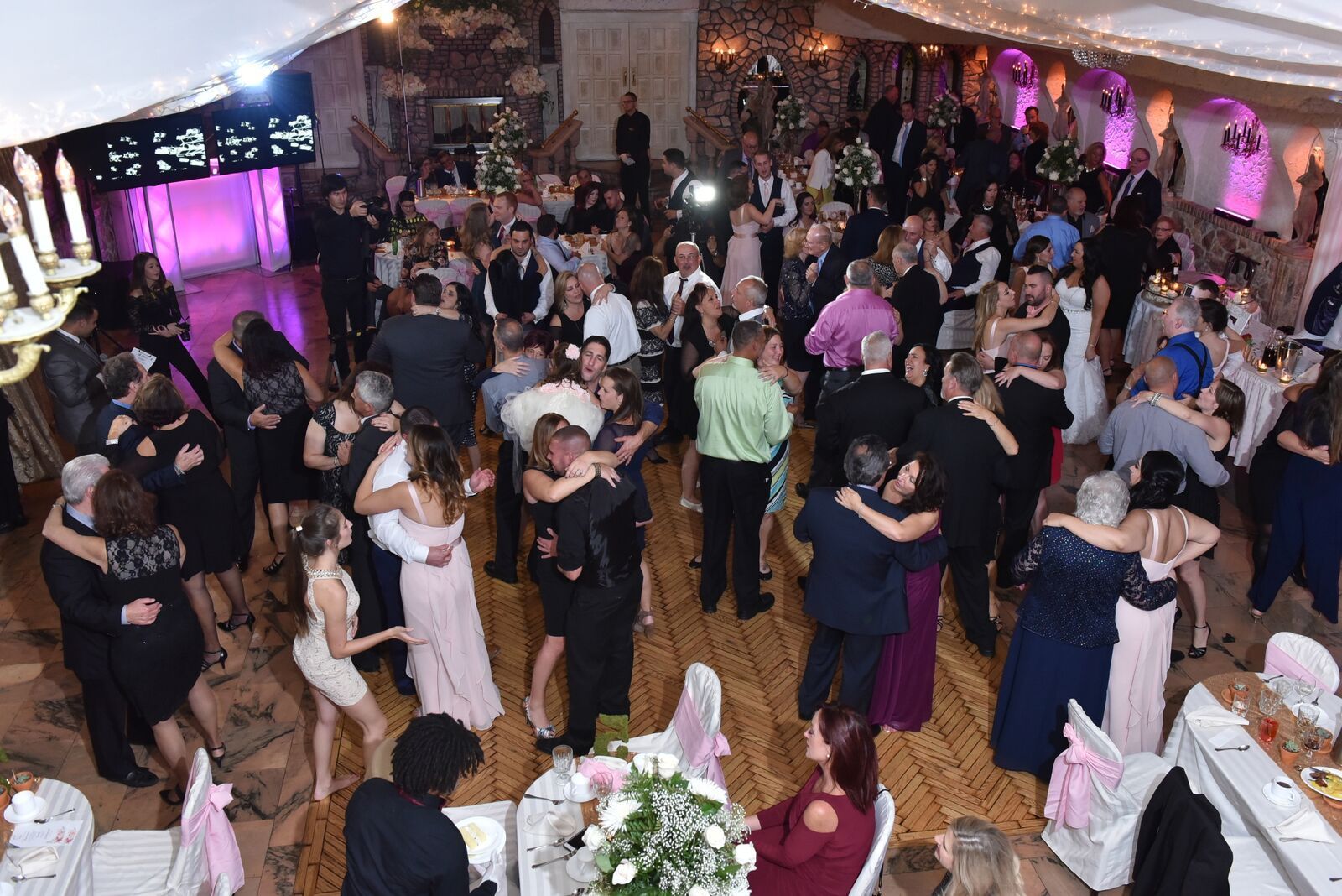 Our Festive Dance Floor Awaits You After All Your Wedding Or Event Should Be Nothing Less Than Celebr Queens Wedding Wedding In The Woods Wedding Highlights