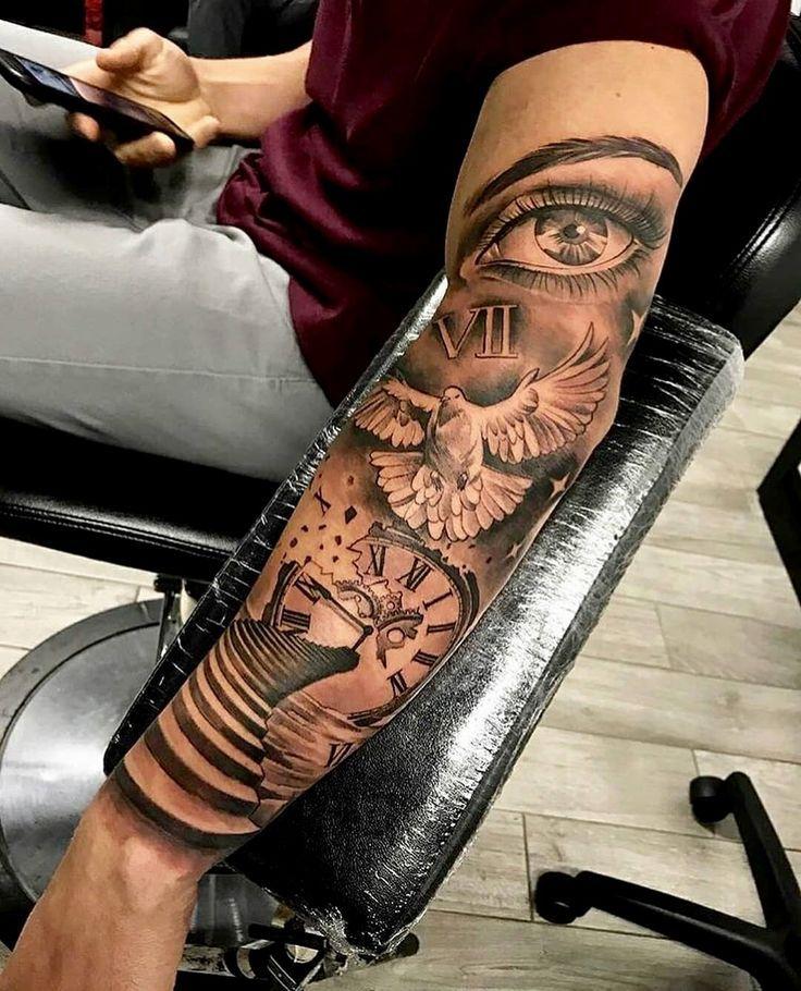 Arm Tattoo Herren