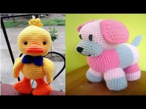 Amigurumis Para Bebes : Amigurumis para juguetes de bebes tejidos a crochet tejiendo