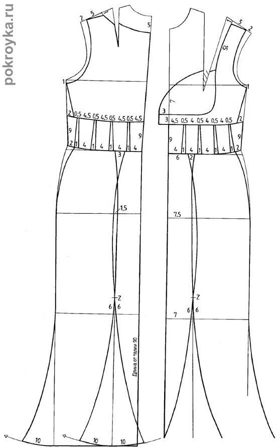 Праздничное платье-корсет со вставкой в области груди | Vestiditos ...