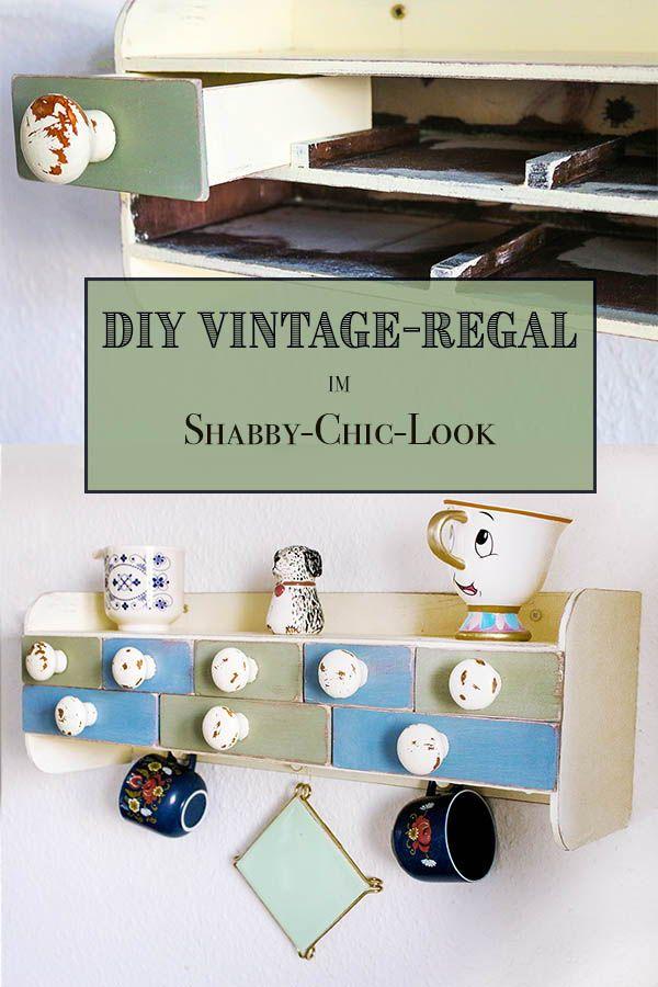DIY-Küchenregal im Vintage Look DIY interior and Vintage - küchenregal selber bauen