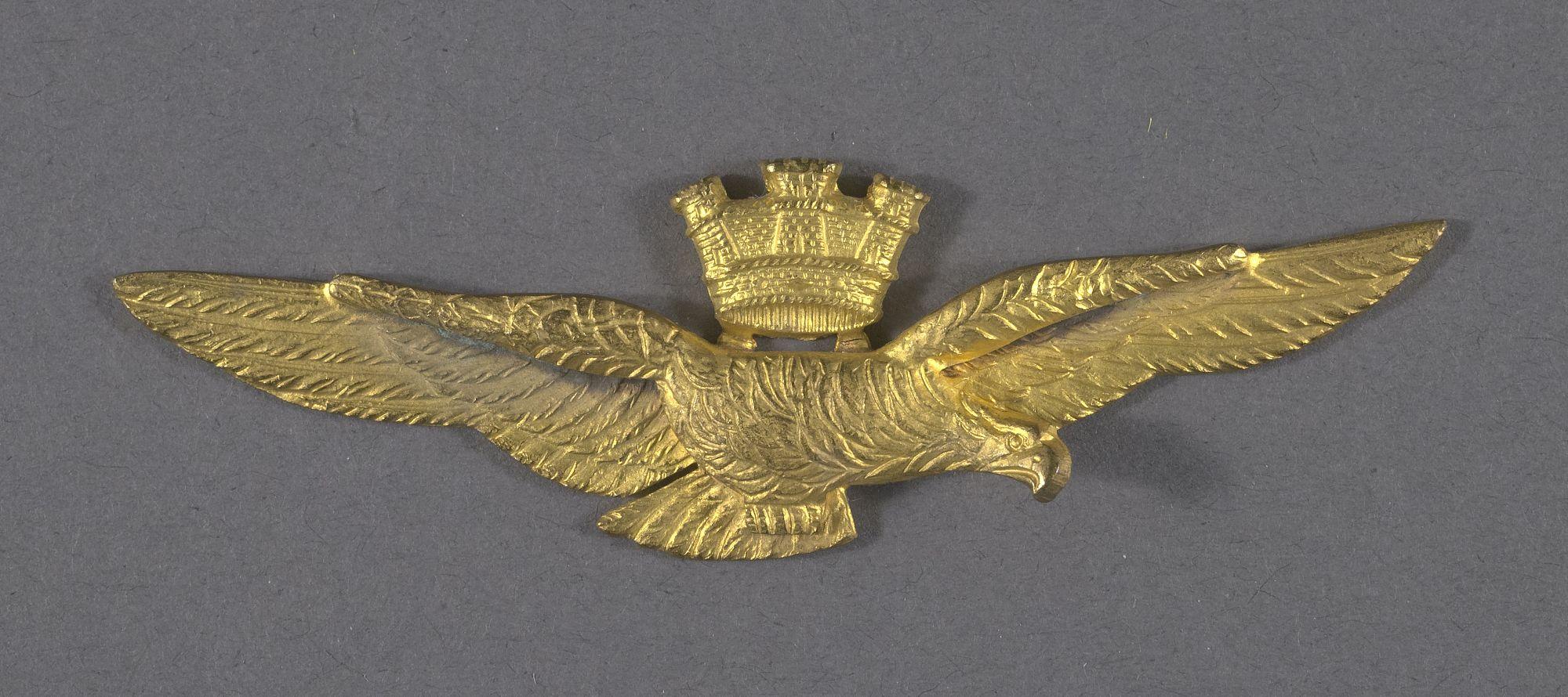 Italian air force pilot's badge, World War 2 Italian air