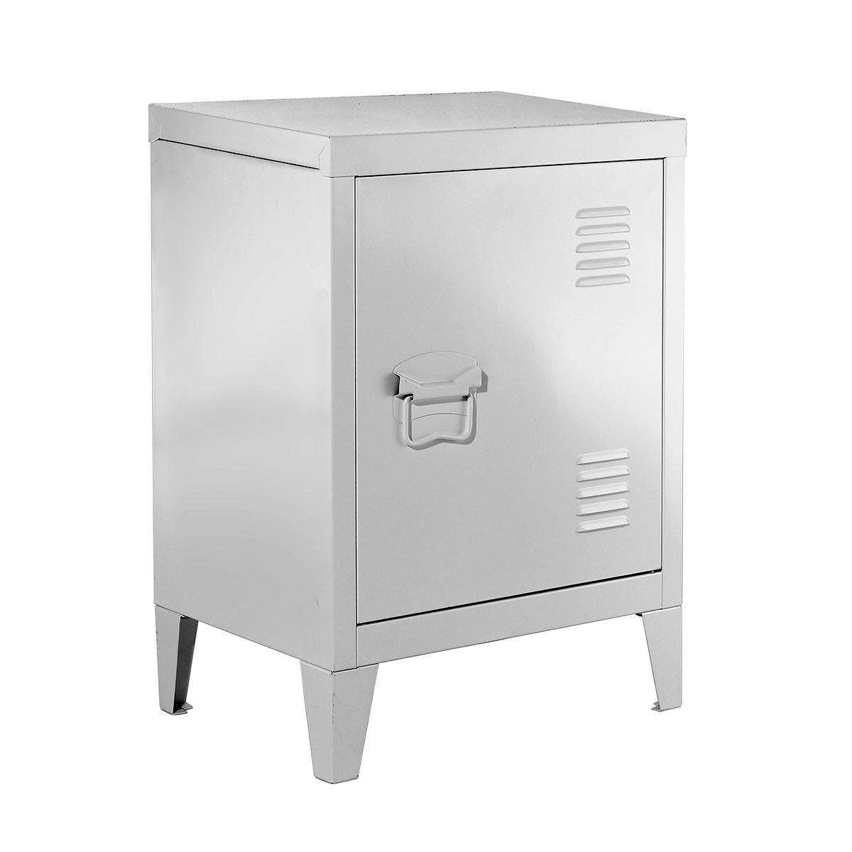 Petite Armoire En Metal Blanche Taille Taille Unique Armoire En Pin Armoire Rangement Armoire