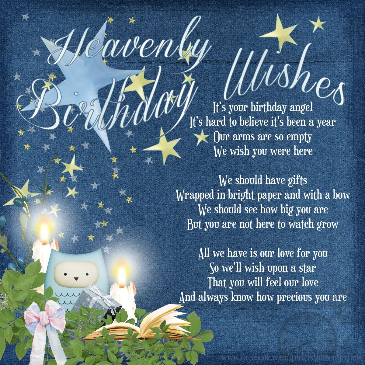 Heavenly Birthday Wishes Birthday in heaven, Birthday in