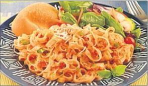 Firehouse Foodie: Firehouse spaghetti