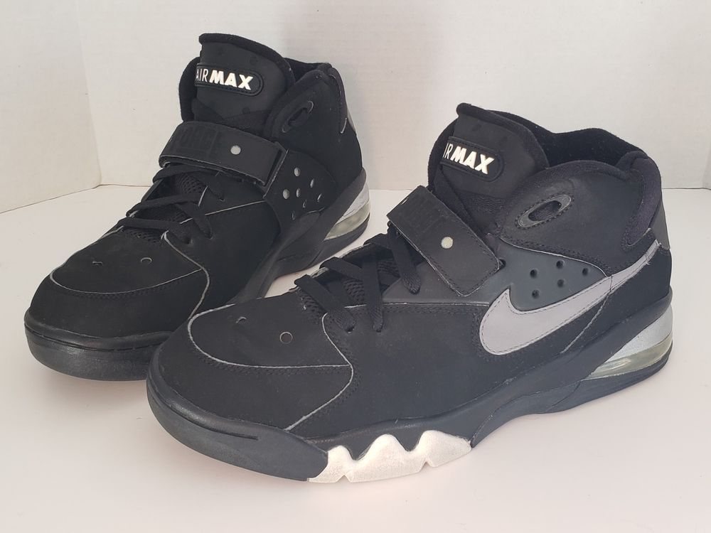 famous brand best sell skate shoes NIKE AIR FORCE MAX CHARLES BARKLEY CB 34 BLACK GREY WHITE ...