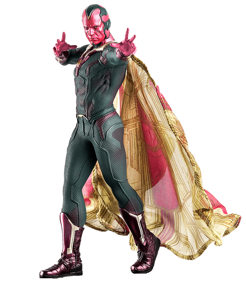 Vision 1 Png By Captain Kingsman16 On Deviantart Captain Visions Marvel