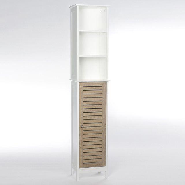 Image Colonne de salle de bain - Bois - Blanc INSTANT D O | Idées ...