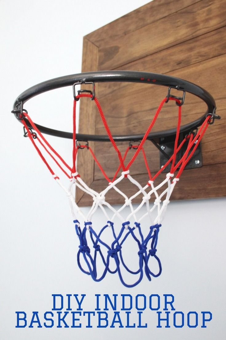 Basketball Hoop Laundry Basket A Simple Diy Wood Basketball Hoop Is Perfect For The Sportsloving