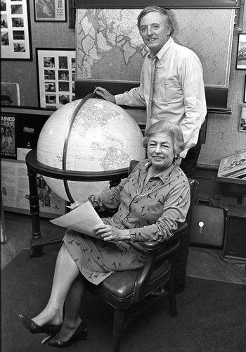 William F. Buckley, Jr. & Priscilla Buckley