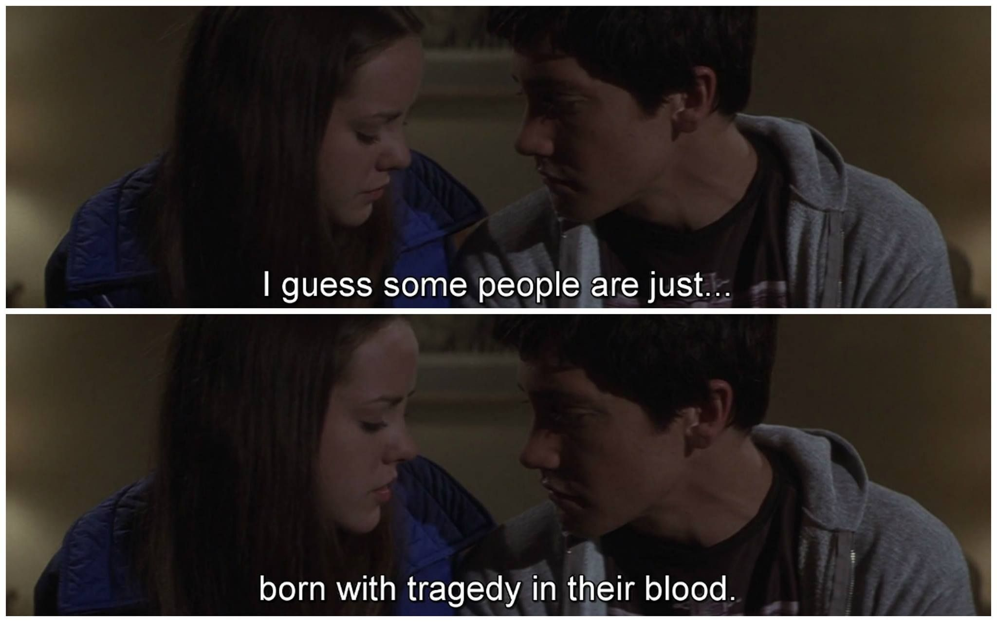 Donnie Darko. I guess some people are just born with tragedy ...