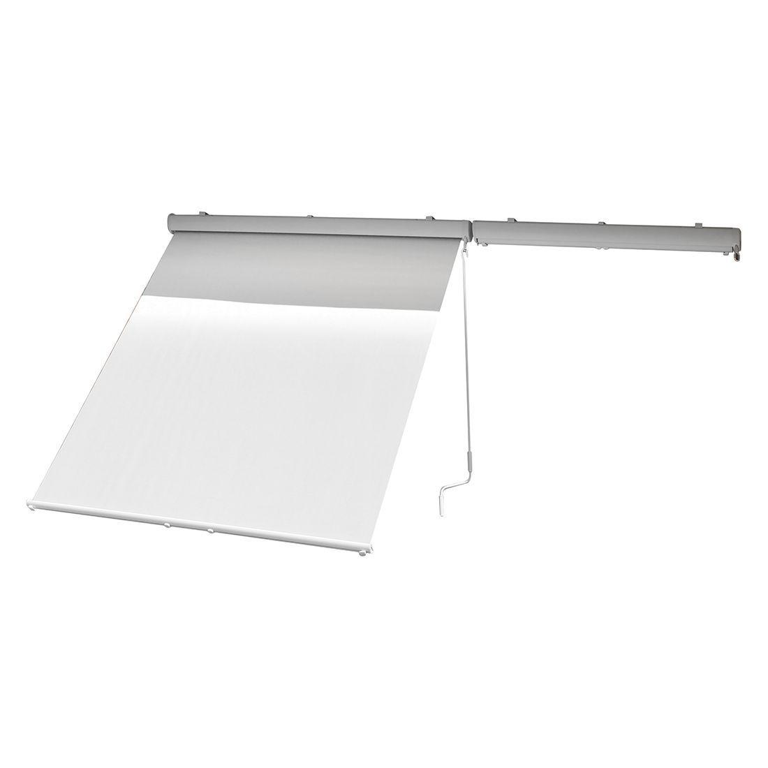 Sonnenrollo Machabe I - Webstoff Grau, Leco