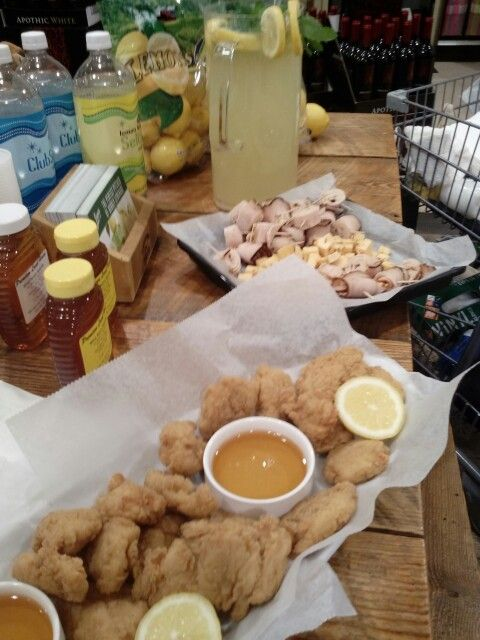 Lemonade And Chicken Tenders With Local Honey Lowes Foods South