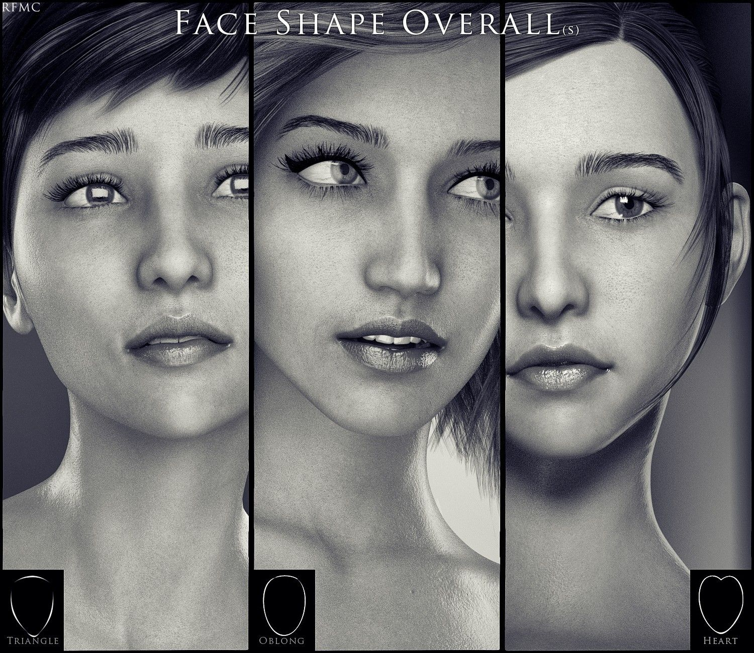 RareStone's Face Morphs Collection for Genesis 8 Female   3D
