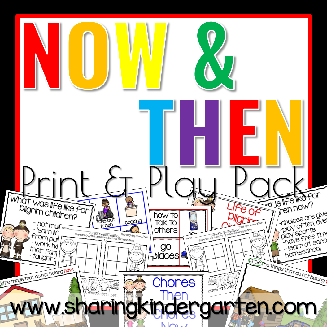 Now And Then Print Amp Play Pack
