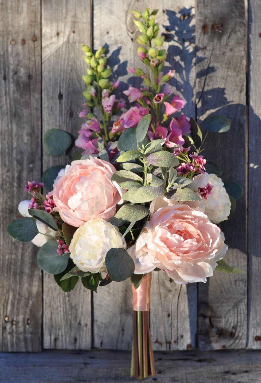Garden inspired faux flower bouquets shipping worldwide from Holly\'s ...