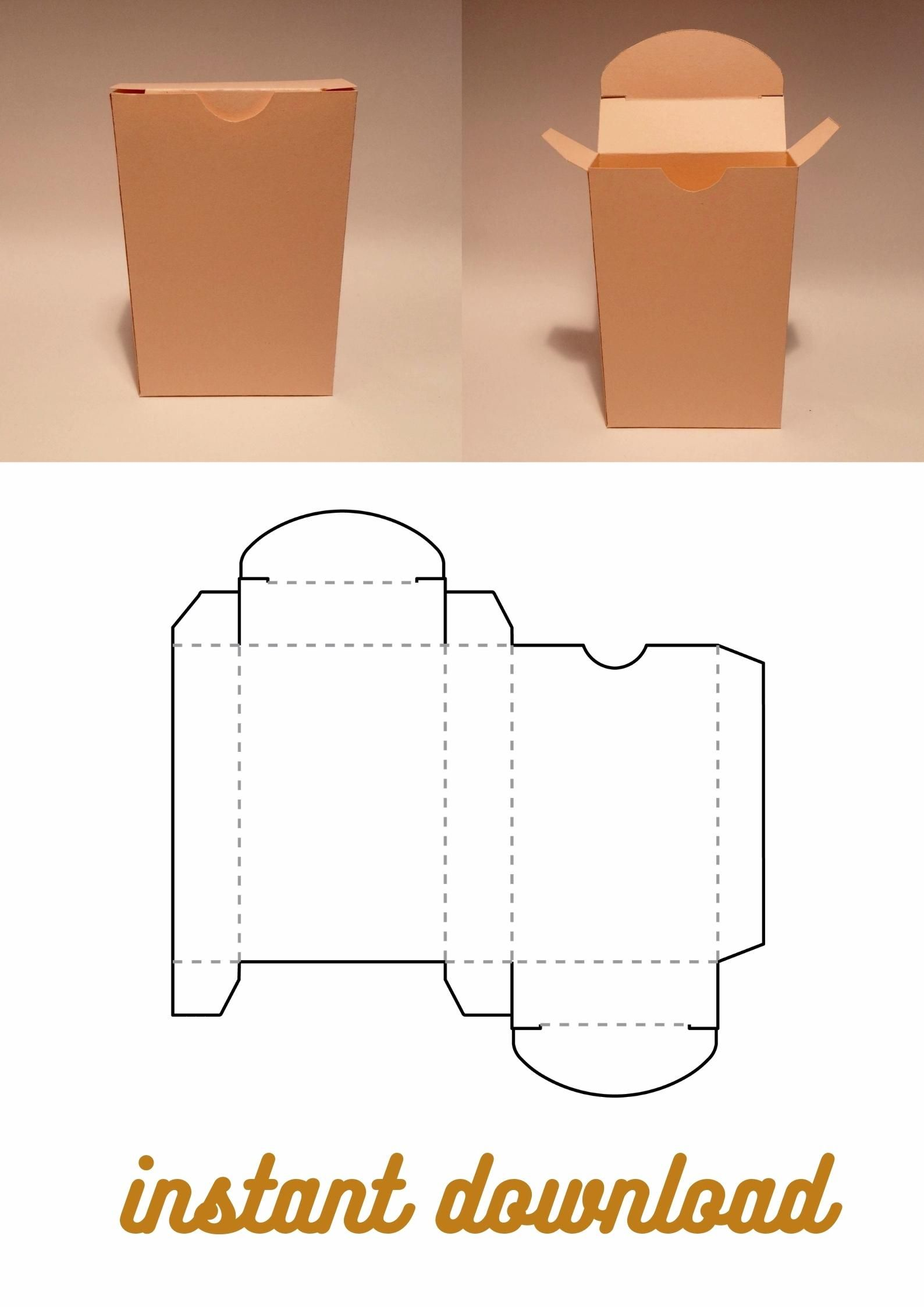 Playing Card Box Template Card Box Tuck Box Card Deck Box Etsy Video Video Playing Card Box Diy Gift Box Template Box Template