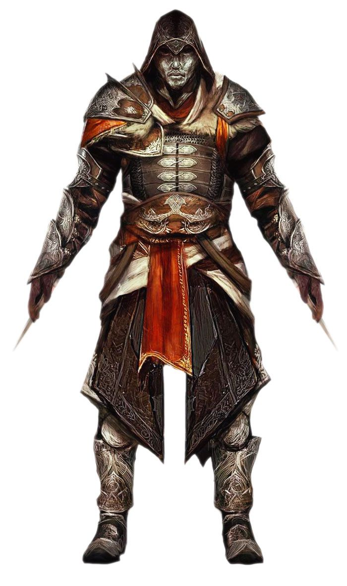 turkish assassin armor from assassins creed revelations
