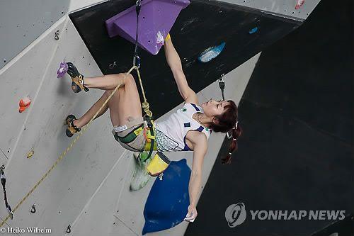 '암벽여제' 김자인 세계선수권 준우승 [연합뉴스, 2012-09-16]